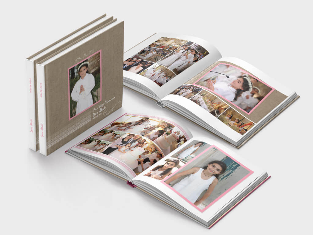 First Communion Photo Books Holy Communion Photo Albums Memento