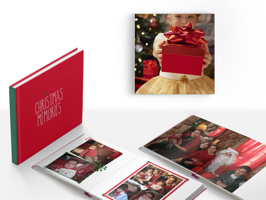 Christmas Photo Books & Canvases