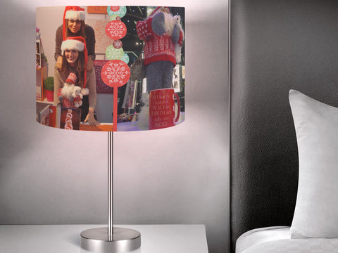 Personalized Christmas Lampshades