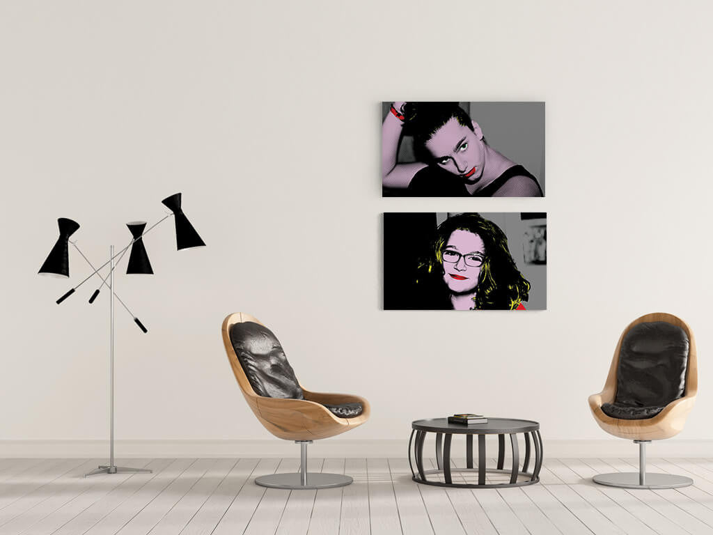 Pop Art Canvas Prints