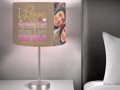 Personalized Valentine Lampshades