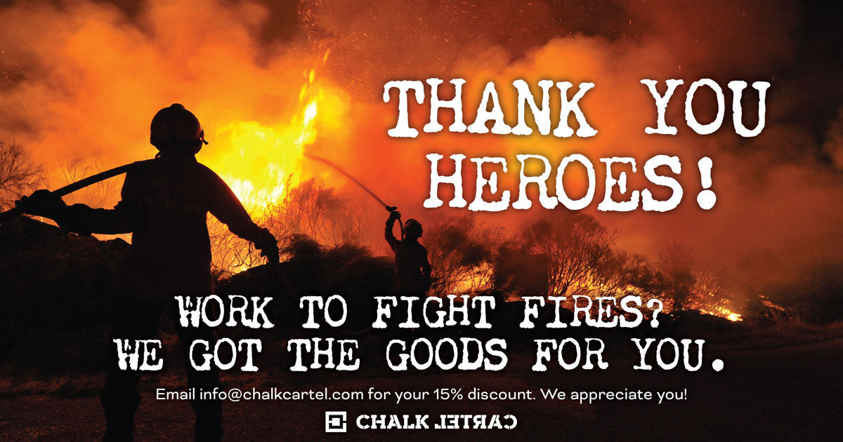 Thank you Fire Fighting Heroes!