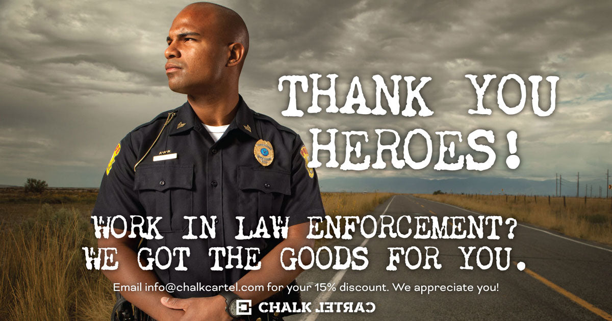 Thank you Law Enforcement Heroes!