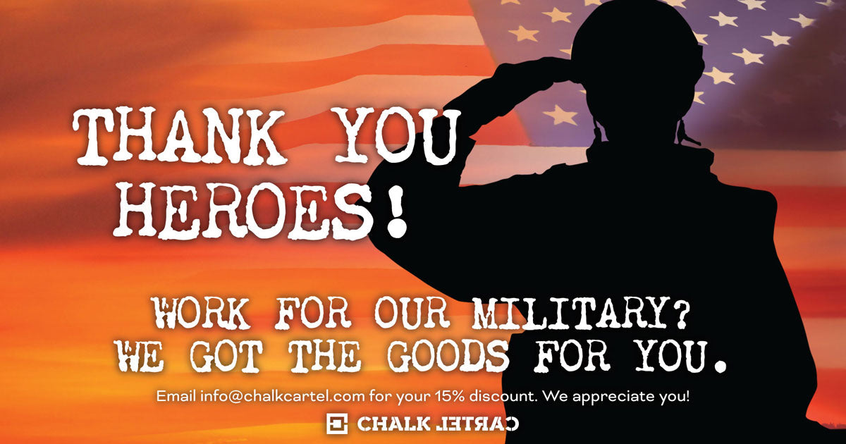 Thank you Military Heroes!