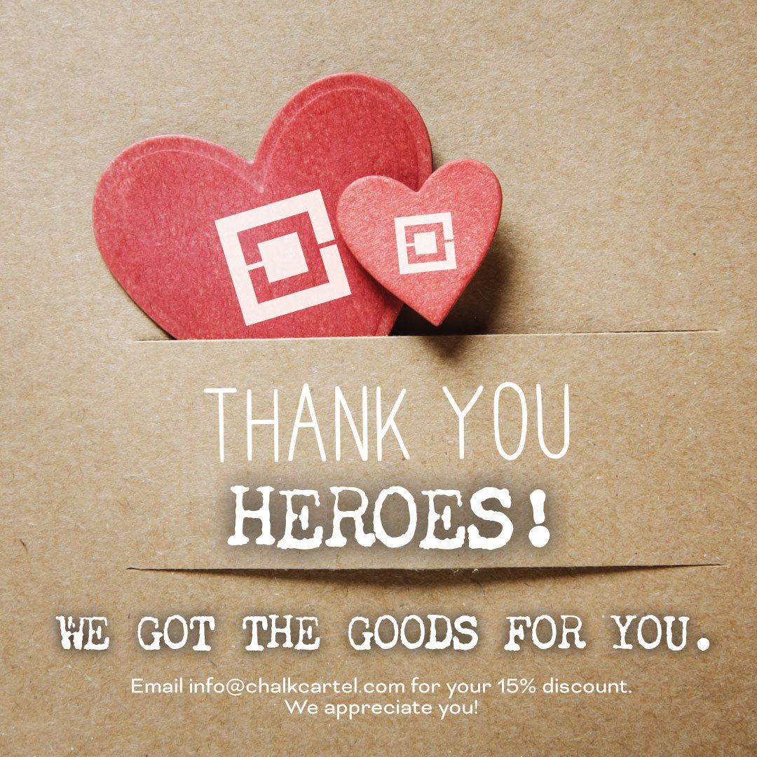 Thank you Heroes!