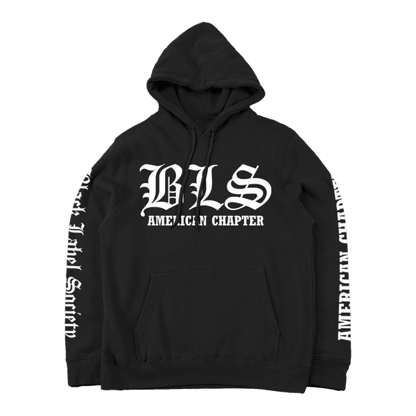 American Chapter Black Pullover Hoodie