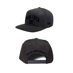 Doom Crew Inc Monotone Embroidered Hat
