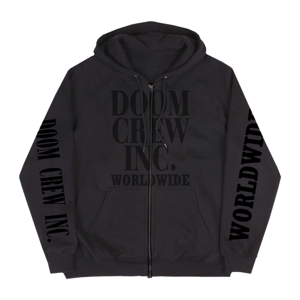 Doom Crew Inc Worldwide Black Friday Zip Hoodie