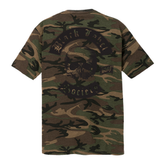 BLS Worldwide Black Print Camo Tee