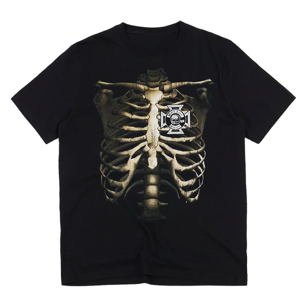 Rib Cage Men's Black T-Shirt