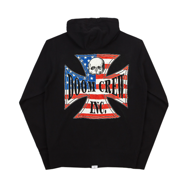 Doom Crew American Chapter Zip Hoodie