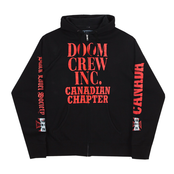 Doom Crew Hoodie Canadian Chapter