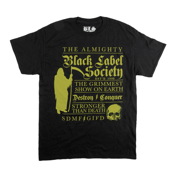 Grimmest Show On Earth Black Tee