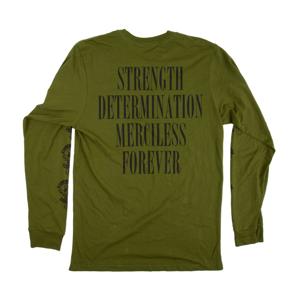 SDMF Military Green Long Sleeve
