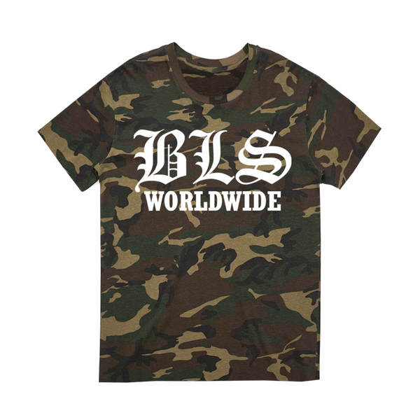 "Black Label Society ""Worldwide"" Camo Tee"