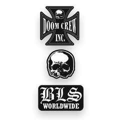 Black Label Society 3 Pin Pack