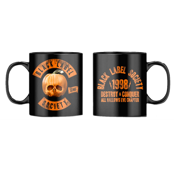 "Black Label Society ""All Hallows Eve Chapter 2020"" Black Mug"
