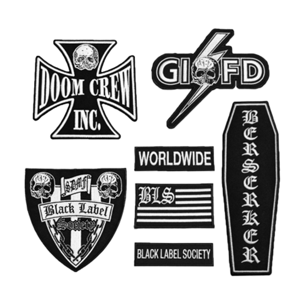 BLS Front Patch Set