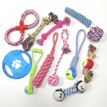 Load image into Gallery viewer, Random Color Dog Rope Toy for Large Dog Rope Ball Chew Toys Teeth Cleaning Pet Toy for Small Medium Dogs Pet Products