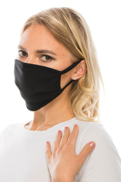 Washable/Reuseable Mask - With or without filter pocket