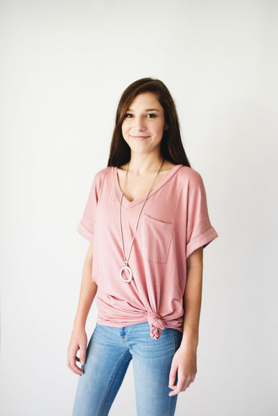 Boyfriend Fit Tunic Tee