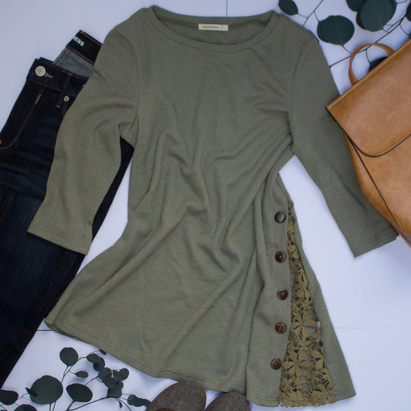 Lucy Laced Tunic