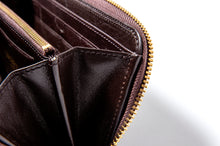 Load image into Gallery viewer, ホースハイド ラウンド ロングウォレット  HORSE HIDE ROUND LONG WALLET