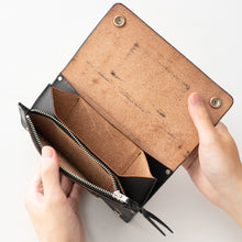 Load image into Gallery viewer, UKサドルレザートラッカーウォレットUK Saddle Leather Trucker Wallet