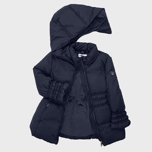 Mayoral blue girls padded coat