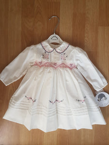 Sarah Louise smocking dress 011649