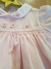 Load image into Gallery viewer, Pink baby dress 012240
