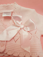 Load image into Gallery viewer, Pink baby cardigan