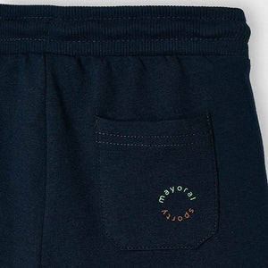 Boys navy blue shorts