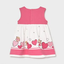 Load image into Gallery viewer, Pink print dress for baby