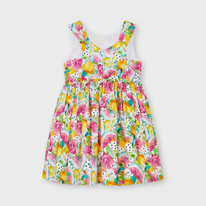 Mayoral girls print dress