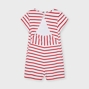 Summer striped playsuit/dress