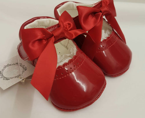 Red baby shoes - Ctwinkles