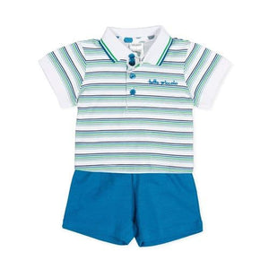 Boys summer short set
