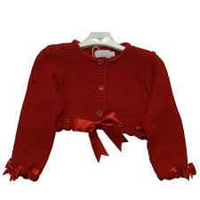 Red bow cardigan - Ctwinkles