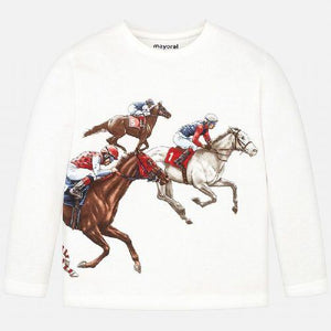 Horse racing t-shirt - Ctwinkles