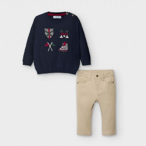 Mayoral Jumper & trouser set for boys