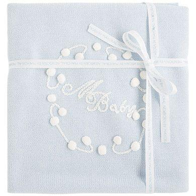 Knitted baby blanket - Ctwinkles
