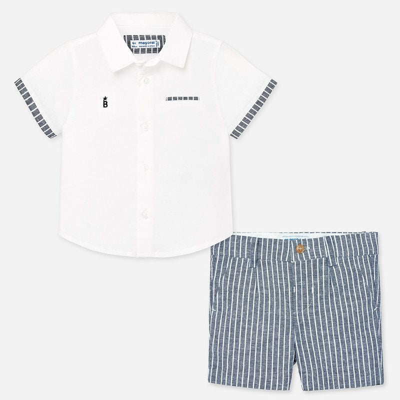 Mayoral boys short set
