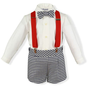 Baby boys spanish shirt & short set