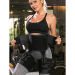 3-IN-1 ADJUSTABLE ULTRA SWEAT WAIST AND THIGH TRIMMER