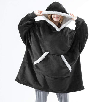 WINTER FLEECE OVERSIZED BIG HOODIES