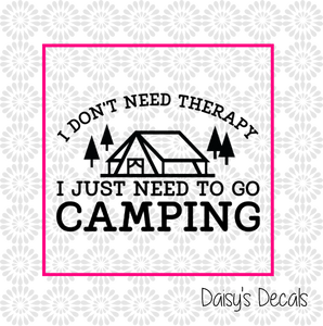 Camping Decals