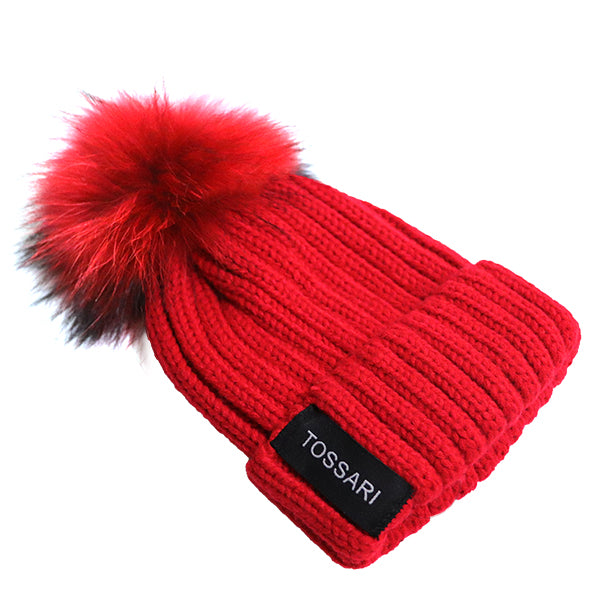 BABY POMPOM WINTER HAT