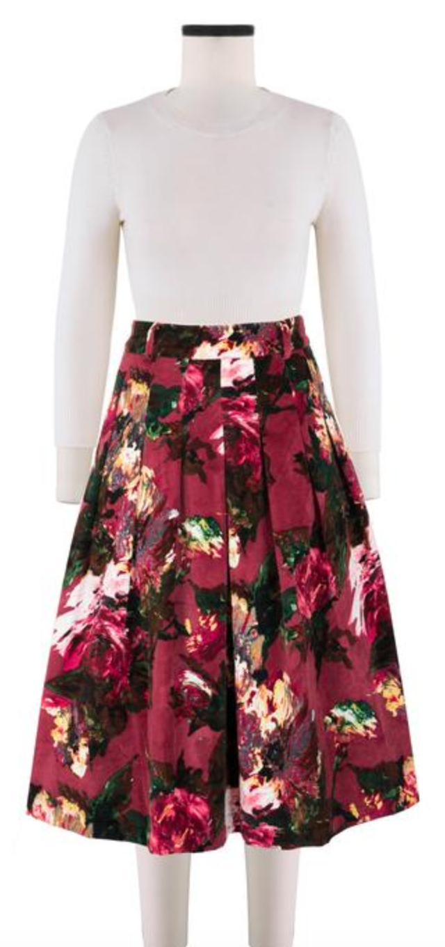 Samantha Sung Rock Zelda Skirt Renoire Rose