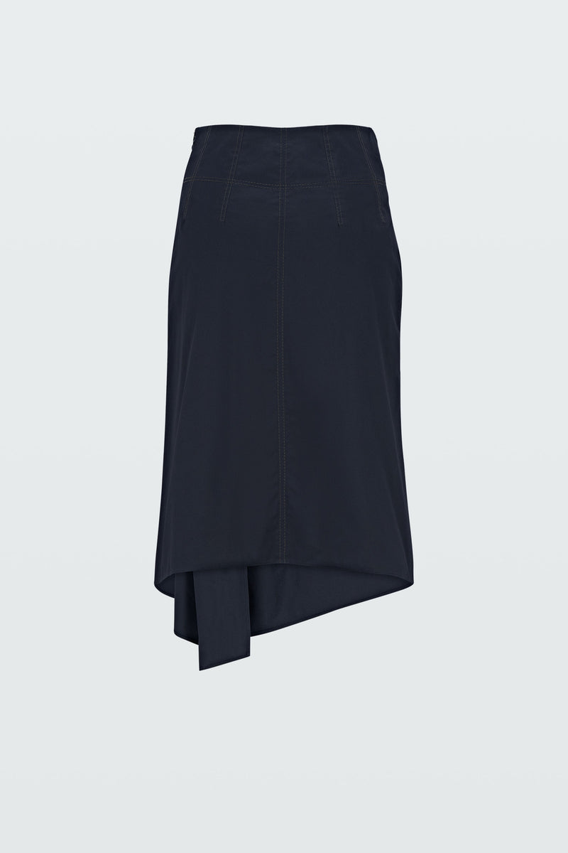 Dorothee Schumacher Rock Sporty Power skirt pure black